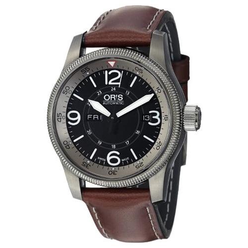 Мужские наручные швейцарские часы в коллекции Oris Aviation Big Crown 735-7660-42-64LS