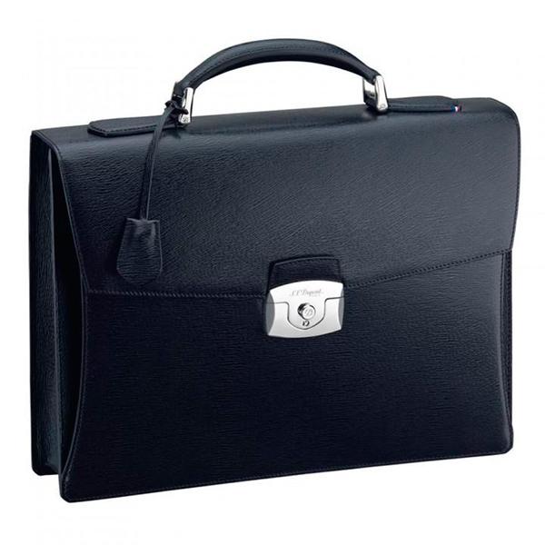 Черный портфель Contraste с 1 основным отделением 181301