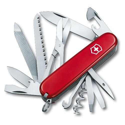 1.3763 Офицерский нож Victorinox Ranger 91 мм 21 функция красный