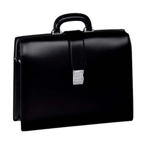Черный портфель Meisterstuck Single Gusset Framed Briefcase с 1 отделением 105923