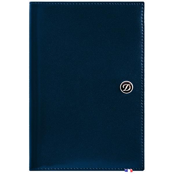 Обложка для паспорта S.T.Dupont Line D Elysee Navy Blue 180912