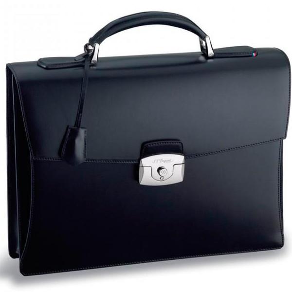 Черный портфель Elysee с 1 основным отделением 181001