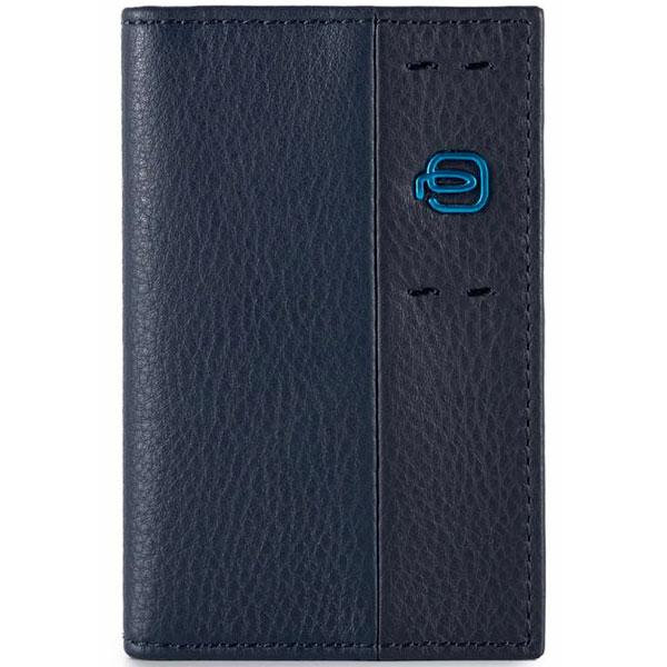 Чехол для кредитных карт Piquadro Pulse Blue PP4186P15/BLU3