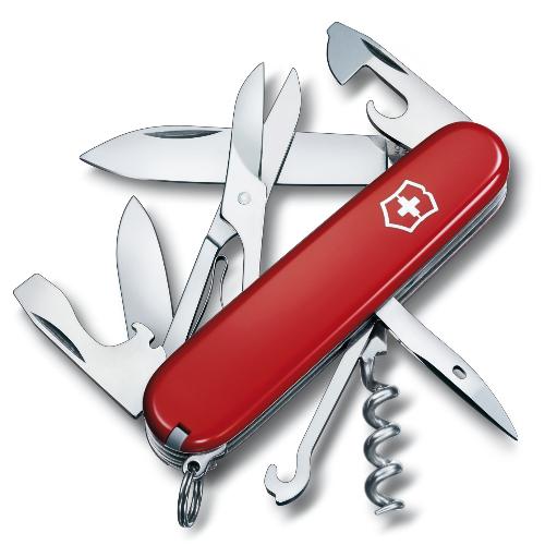 1.3703 Офицерский нож Victorinox Climber 91 мм 14 функций красный