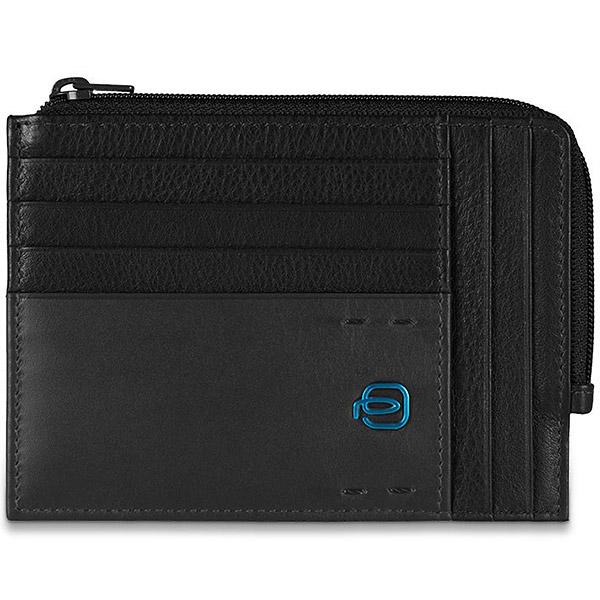 PU1243P15/N Чехол для кредитных карт Piquadro Pulse Black