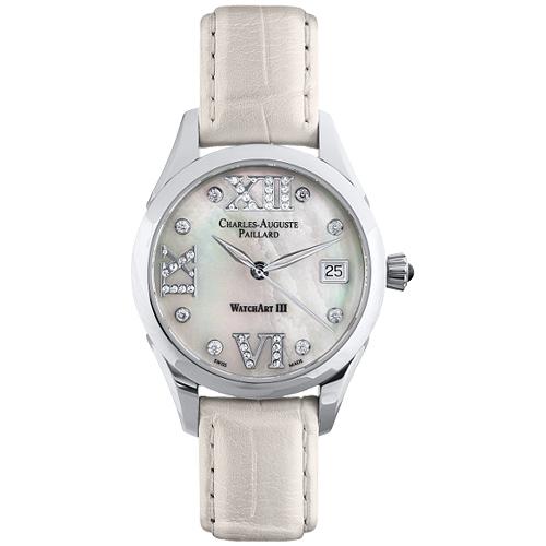 Женские часы Charles-Auguste Paillard Classic Automatic Lady 400.101.11.13S