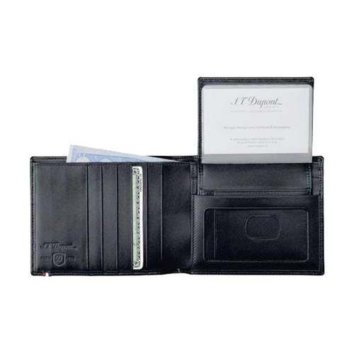 Бумажник на 5 кредитных карт / съемный блок Line D Black 180006