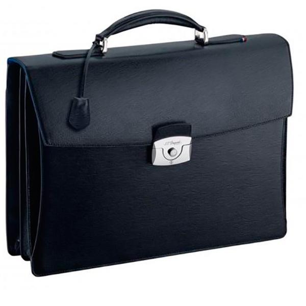Черный портфель Elysee с 2 основными отделениями 181002