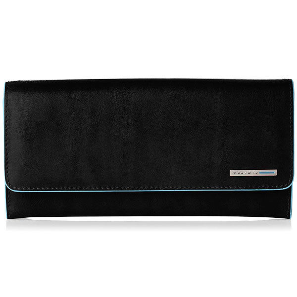 Кошелек Piquadro Blue Square Black PD3889B2/N