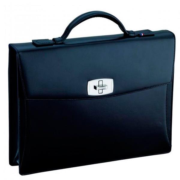 Черный портфель Elysee с 1 отделением 181000
