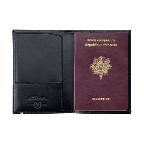 Обложка для паспорта Line D Black 180012