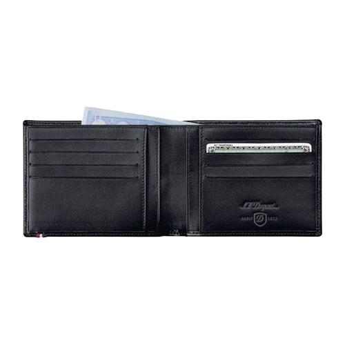 Бумажник на 8 кредитных карт / документы Line D Black 180003