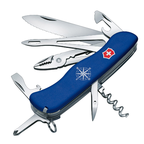 0.9093.2W Нож перочинный Victorinox Skipper 111 мм 17 функций синий