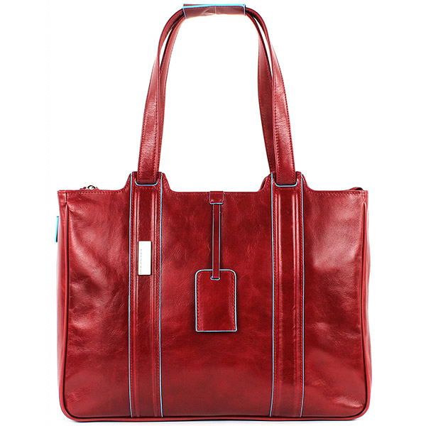 BD1335B2/R Сумка женская Piquadro Blue Square Red