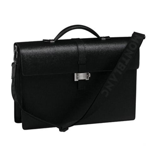 Черный портфель Westside с 1 отделением 7578