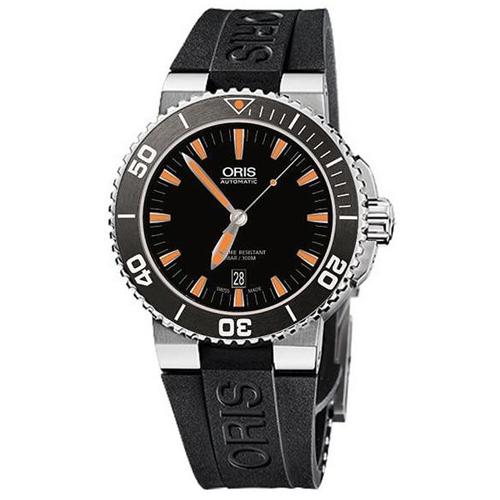 Мужские наручные швейцарские часы в коллекции Divers Oris 733-7653-41-59RS