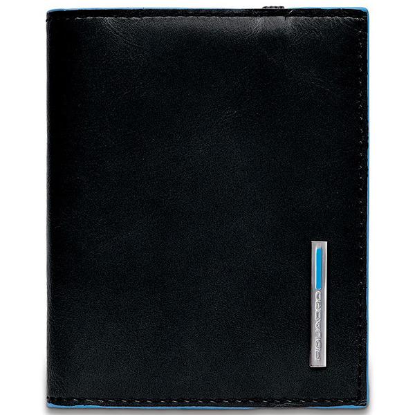 PP1395B2/N Чехол для кредитных/визитных карт Piquadro Blue Square Black