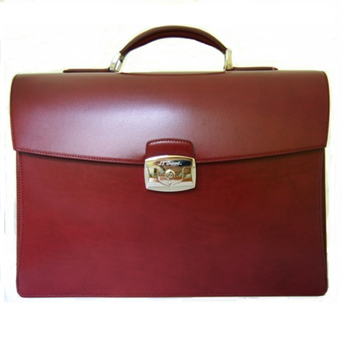 Вишневый портфель Elysee с 2 основными отделениями 181602