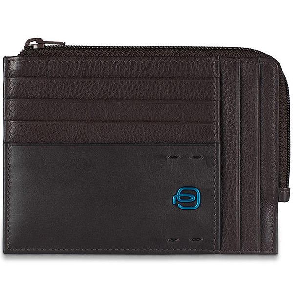 PU1243P15/M Чехол для кредитных карт Piquadro Pulse Cioccolata