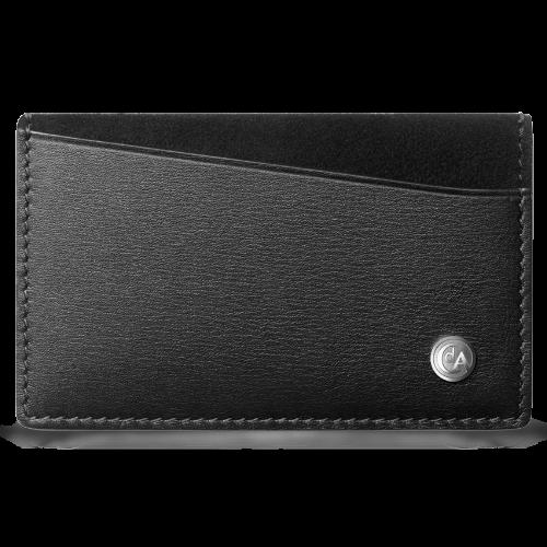 Футляр для кредитных карт Caran d'Ache Haute Maroquinerie Black 10 х 6,2 см 6231.009