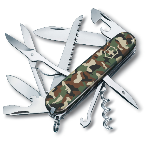 1.3713.94 Офицерский нож Victorinox Huntsman 91 мм 15 функций камуфляжный