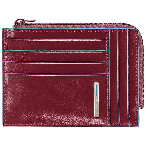 PU1243B2/R Чехол для кредитных карт Piquadro Blue Square Red