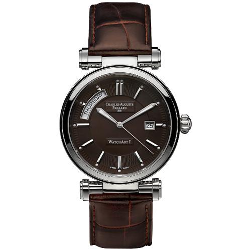 Мужские часы Charles-Auguste Paillard Day Date Automatic 300.400.11.45S