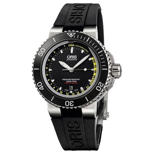 Мужские наручные швейцарские часы в коллекции Divers Oris 733-7675-41-54-set