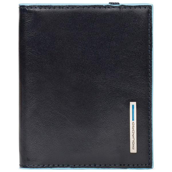 PP1395B2/BLU2 Чехол для кредитных/визитных карт Piquadro Blue Square Night Blue