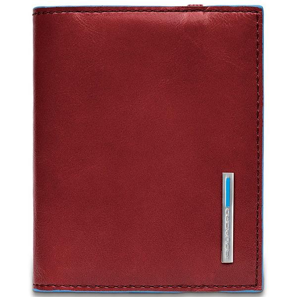 PP1395B2/R Чехол для кредитных/визитных карт Piquadro Blue Square Red