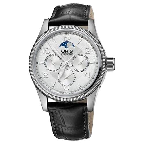 Мужские наручные швейцарские часы в коллекции Oris Big Crown Complication 582-7678-40-61LS