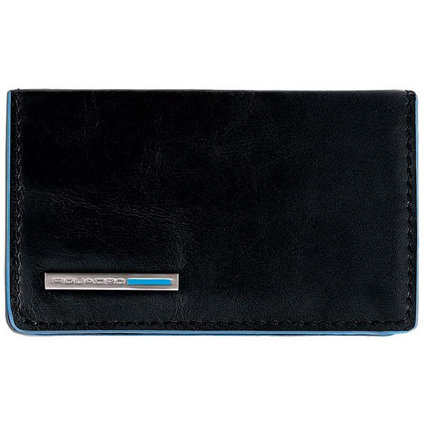 PP1263B2/N Чехол для кредитных/визитных карт Piquadro Blue Square Black