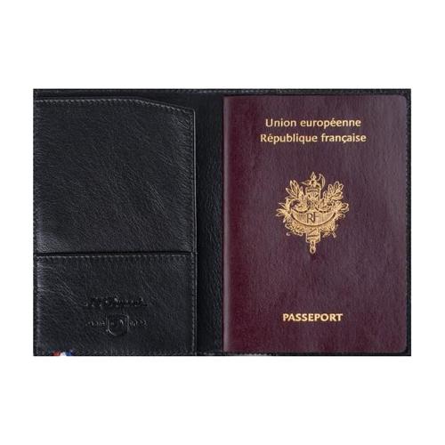 Обложка для паспорта Line D отделка кожей Contraste 180312
