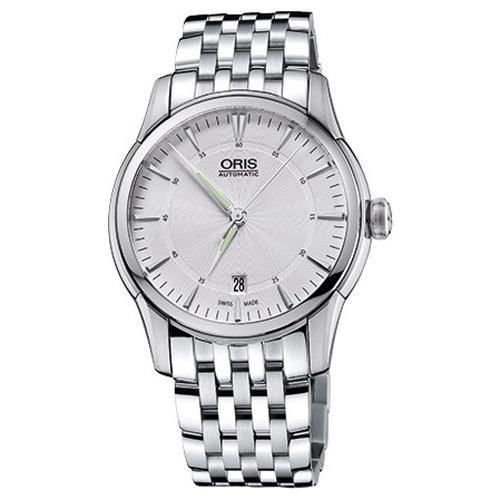Классические мужские наручные часы в коллекции Rectangular Oris 733-7670-40-51MB