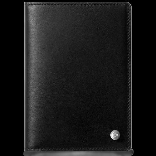 Обложка для паспорта Caran d`Ache Haute Maroquinerie Black 13,5 х 9,5 см 6212.009