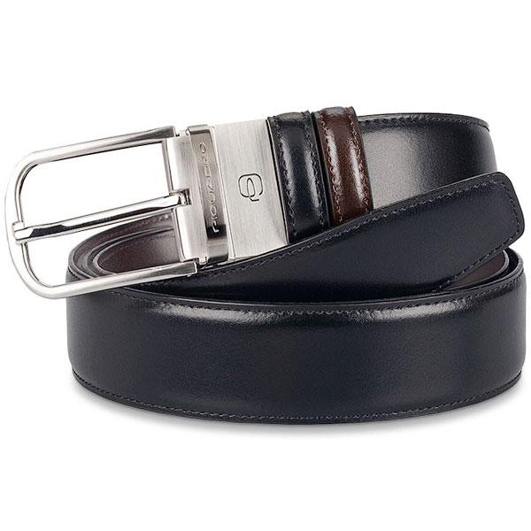 Мужской ремень Piquadro Cinture Coll.11 черный/темно-коричневый CU3049C11/NM