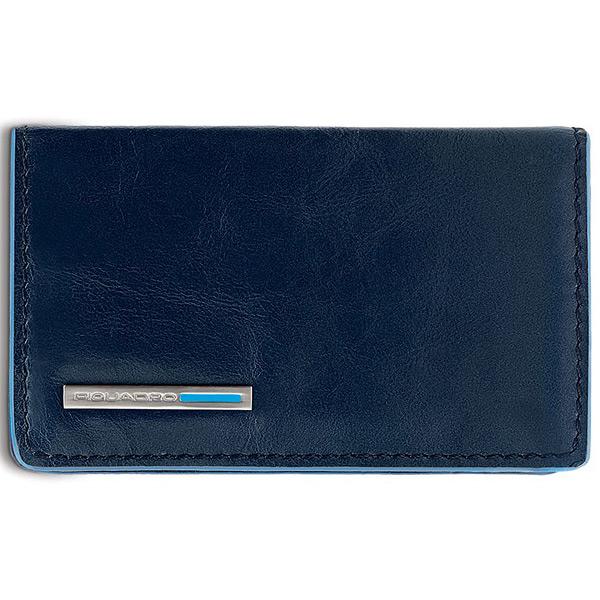 PP1263B2/BLU2 Чехол для кредитных/визитных карт Piquadro Blue Square Night Blue