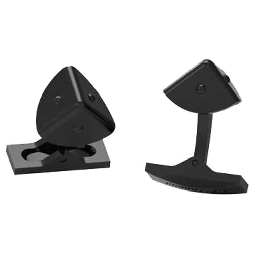 Запонки в виде треугольников с PVD-покрытием черного цвета 5752