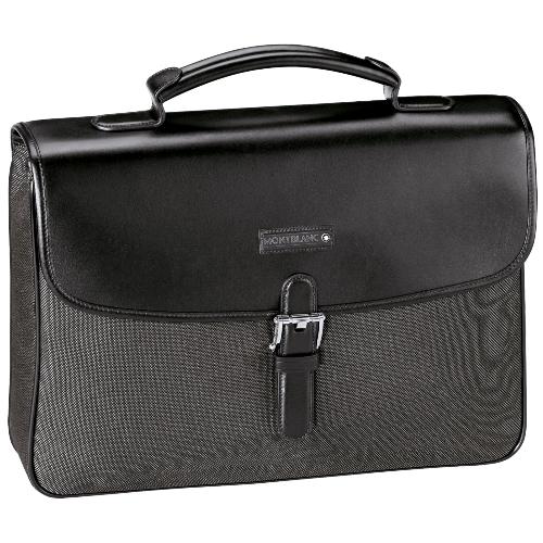Темно-серый портфель Meisterstuck Canvas с 1 отделением 106731