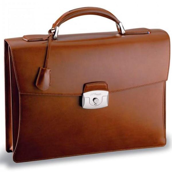 Коричневый портфель Elysee с 1 отделением 181100
