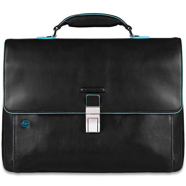 CA3111B2/N Портфель Piquadro Blue Square Black