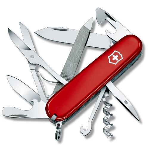 1.3743 Офицерский нож Victorinox Mountaineer 91 мм 18 функций красный