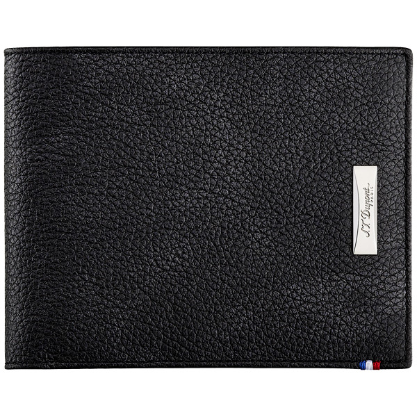 Бумажник S.T. Dupont Line D Soft Diamond Grained 8CC Black 180262