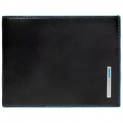 Портмоне Piquadro Blue Square Black