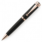 DUCB-G Ручка шариковая Montegrappa Ducale Black and Rose Gold Resin