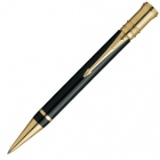 S0690500 Шариковая ручка Parker Duofold Black GT