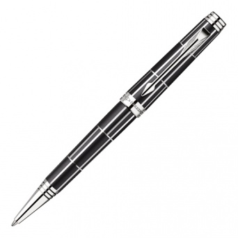 1876393 Шариковая ручка Parker Premier Luxury Black CT